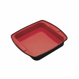 MasterClass Smart Silicone Square Flexible Bake Pan 23cm