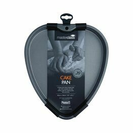 MasterClass Non-Stick Heart Shaped Cake Pan 26x24cm