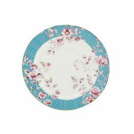 Katie Alice Ditsy Floral Side Plate Teal