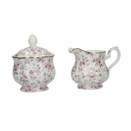 Katie Alice Ditsy Floral Sugar And Creamer Set