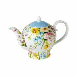 Katie Alice English Garden 6 Cup Teapot