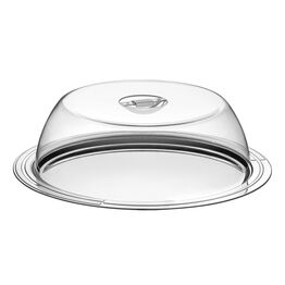 Cake Storage Dome Stainless Steel & Acrylic 33cm