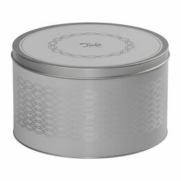 Tala Cake Storage Tin Grey 22x13cm