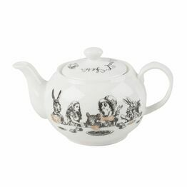 Victoria And Albert Alice In Wonderland Mini Teapot