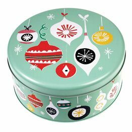 Metal Christmas Design Cake Tin Jolie Noel