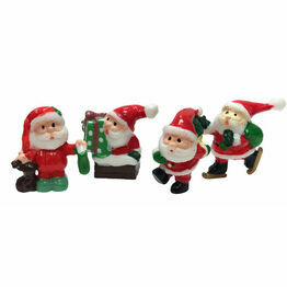 Christmas Figures Santa Cutie Picks F368