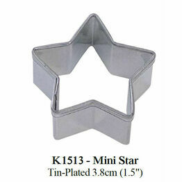 Cookie Cutter Mini Star 3.8cm K1513
