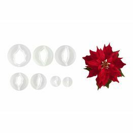 Christmas Poinsettia Cutter Set FMM