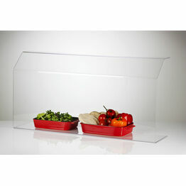 Clear Acrylic Sneeze Screen Food Guard