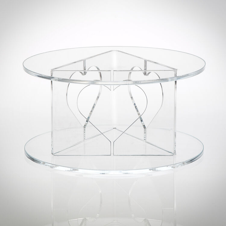 heart wedding cake stand acrylic cake stand from 163 20 60 15184