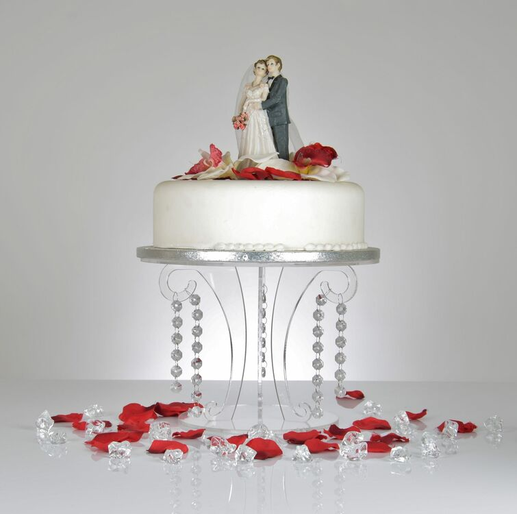 Elegant Cake Display Stands In Three Sizes Ideal To Use Either On