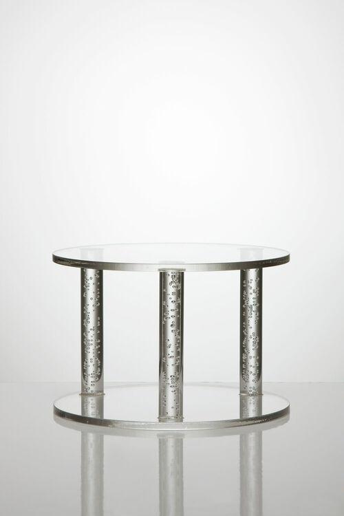 Air Bubble Rod Acrylic Cake Separator Pillars