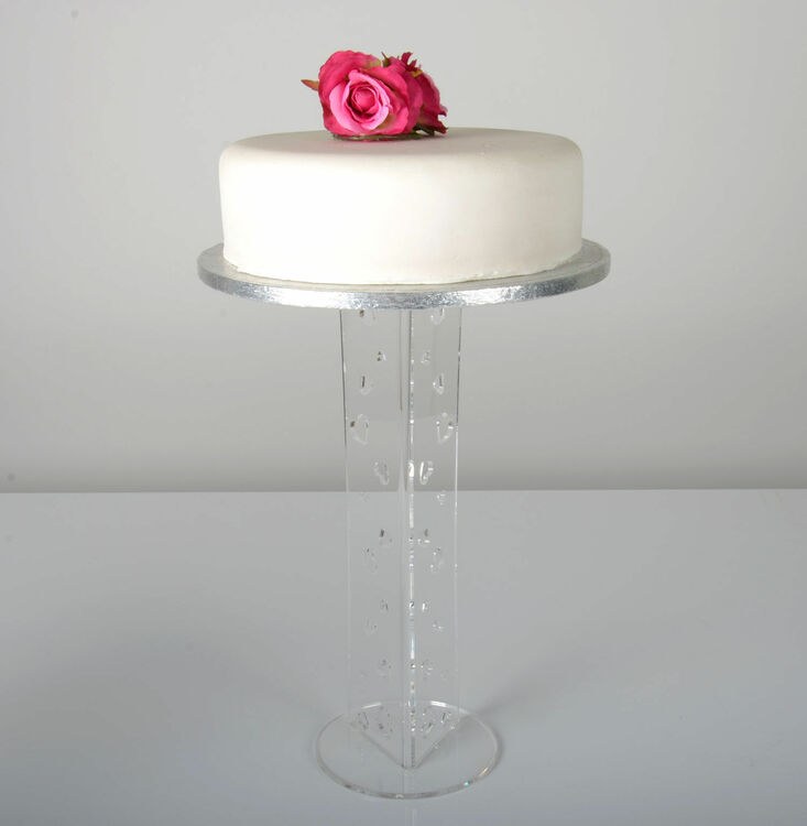 single tier wedding cake stands uk single tier acrylic cake stand various heights 20153