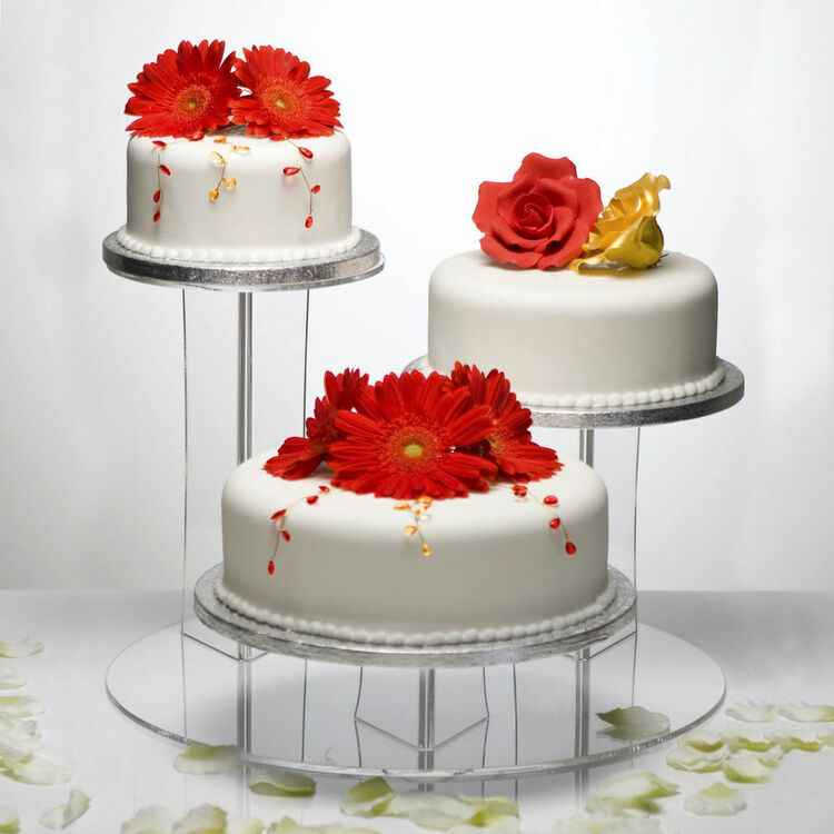 The Mushroom Clear Acrylic 3 Tier Cake Display Stand Only 79 99