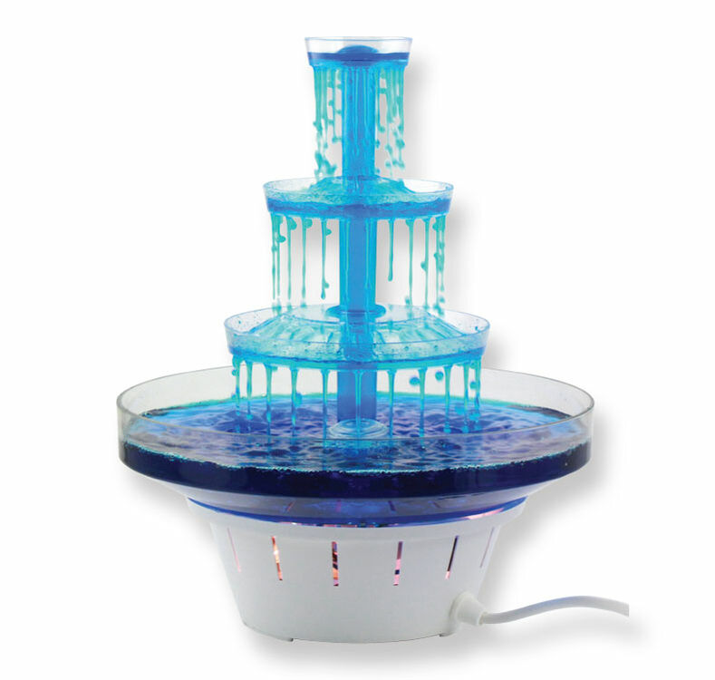 water fountain wedding cake stand four tier water pillar cake stand 21679