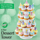 Wilton 4 Tier Stacked Dessert Stand additional 1
