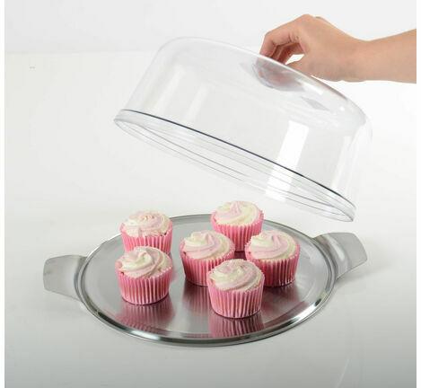 Round Cake Dome with Tray
