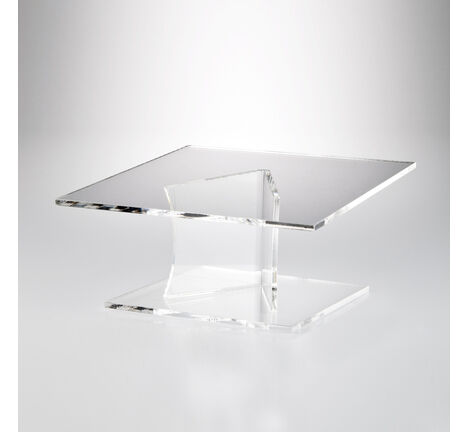 Angled Square Cake Display Stand - Various Heights