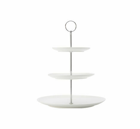 Maxwell & Williams Diamond 3 Tier Porcelain Cupcake Stand