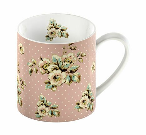 Katie Alice Cottage Flower Pink Floral Mug