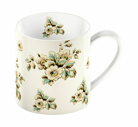 Katie Alice Cottage Flower Cream Floral Mug