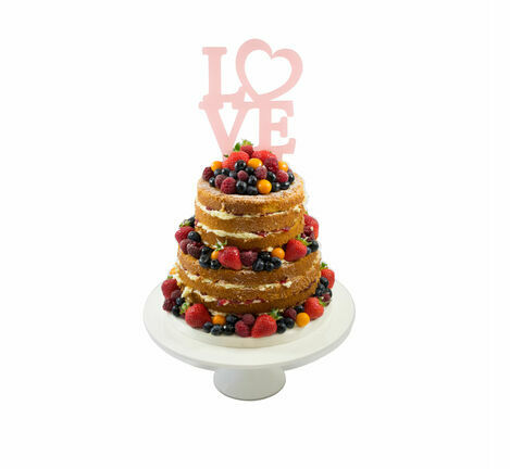 love heart wedding cake toppers wedding cake topper from 163 7 25 16953