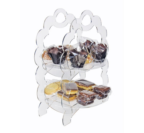 2 Tier Cupcake & Muffin Display Stand