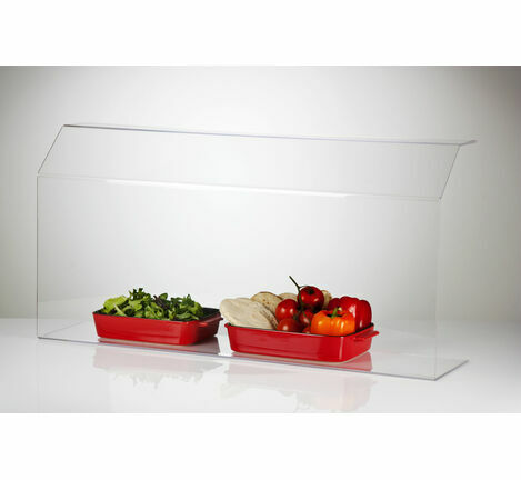 Acrylic Food Sneeze Screen Guard