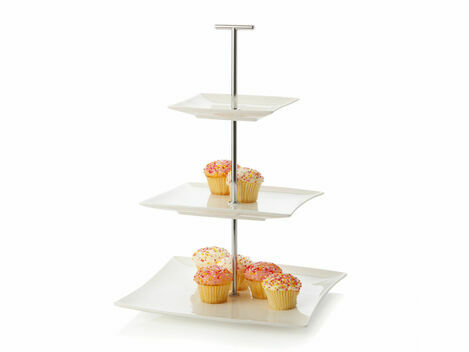 Maxwell & Williams Elegance 3 Tier Afternoon Tea Cake Stand