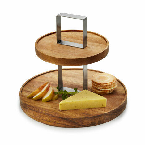 2 Tier Fromage Cake Stand