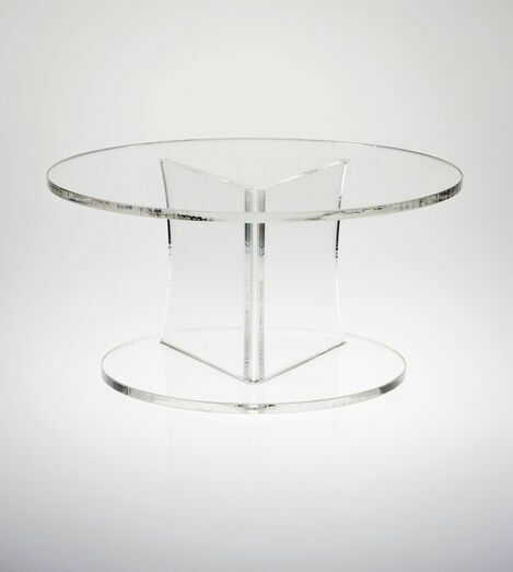 Angled Round Cake Display Stand - Various Heights