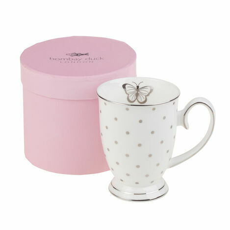 Bombay Duck Miss Darcy Butterfly Mug