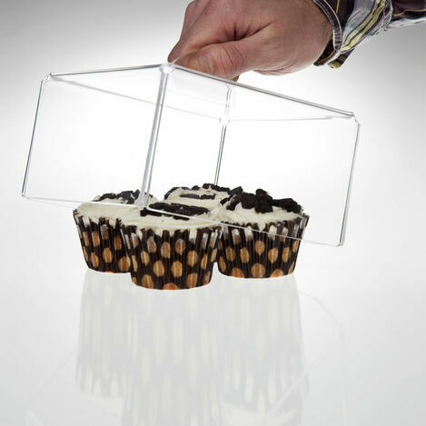 Clear Acrylic Square Cake Covers