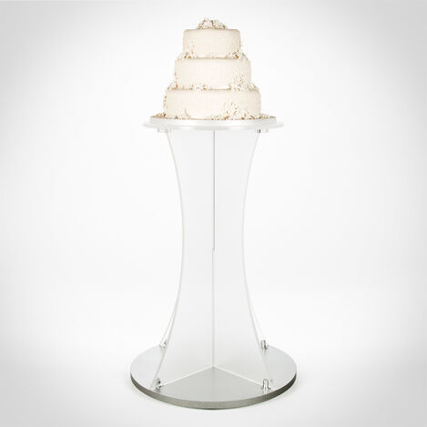 Round Floor Standing Cake Display Plinth Stand