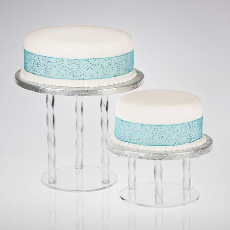 Wedding Cake Separator Plates And Pillars