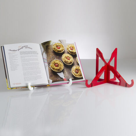 Flat Folding Acrylic Recipe Book Stand