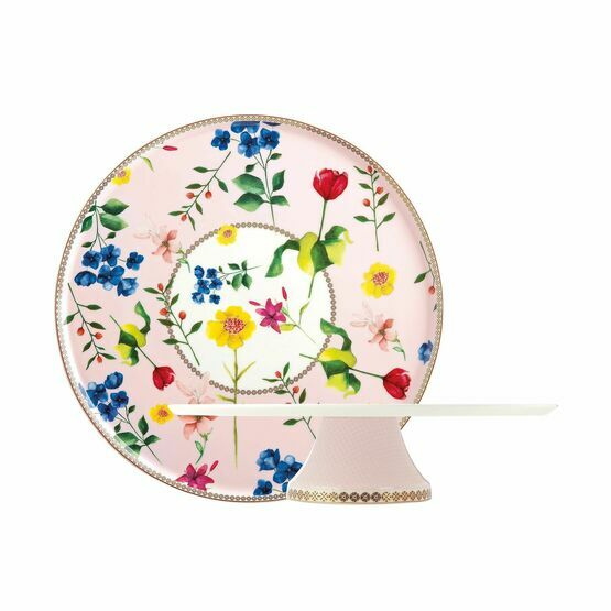 Maxwell & Williams Tea's & C's Contessa 30cm Footed Cake Stand Rose