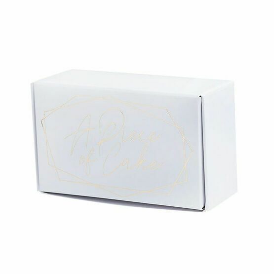 Mini Cake Box A Piece of Cake (Pack Of 6)