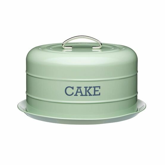 Living Nostalgia Sage Green Domed Cake Tin