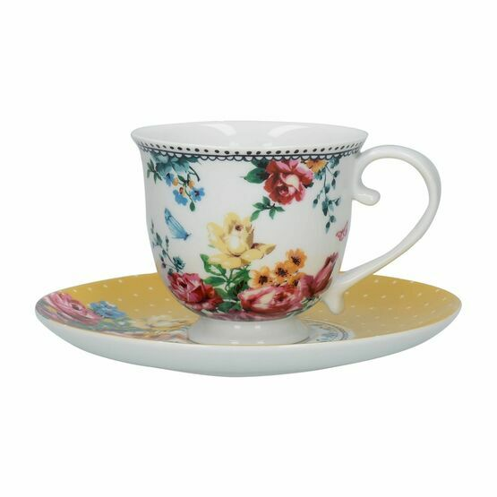 Katie Alice Bohemian Spirit Tea Cup And Saucer