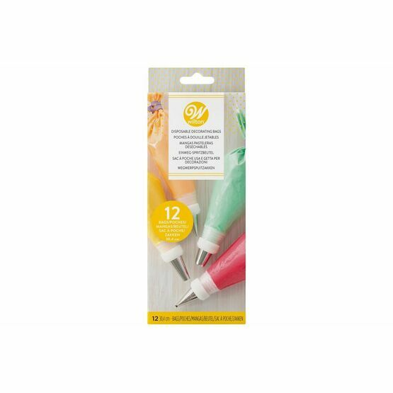 Wilton Disposable Piping Bags 30.4cm Pack of 12